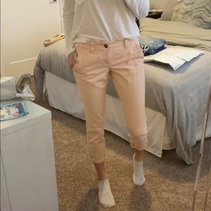 Old Navy pale pink capris